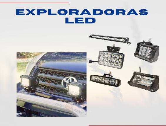 EXPLORADORA BARRA 60 LED