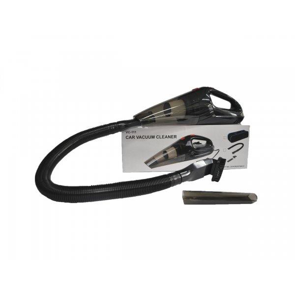 Aspiradora Manual para Carro Inalámbrica Negra 12V  110V-24